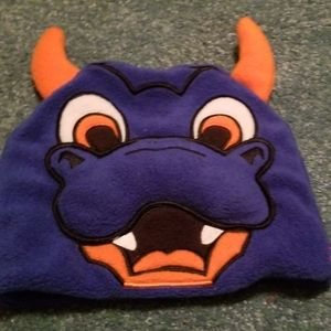 NHL Sparky mascot hat